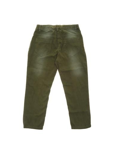 Panço Kız Çocuk Pantolon 18221021100 Haki
